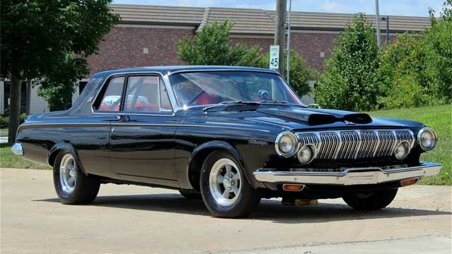 dodge 1963 dart muscle rod cars street line 525hp tv classic mopar