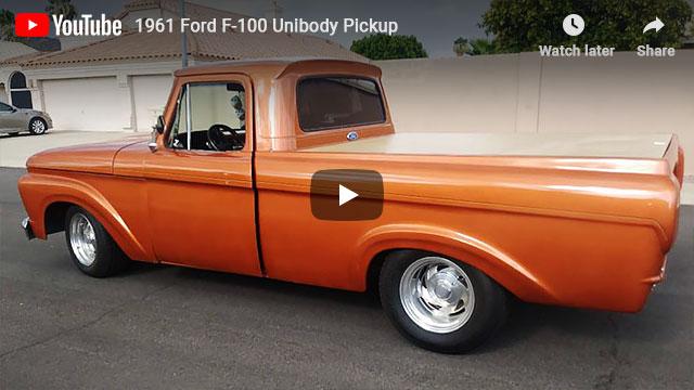 1961 Ford F-100 Unibody Pickup